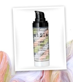 New one step correct Swirl your way to perfect skin in one step! This innovative, triple-swirled helix serum instantly color corrects, brightens and covers skin imperfections for a flawless face with