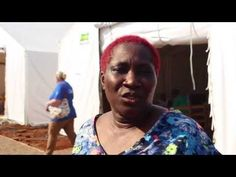 Rugi Conteh, psychosocial nurse: Rugi is from Sierra Leone and has come back to her country to help her own people after spending 30 years living in the UK. Sierra Leone, 30 Years, About Uk, No Response, Goals, Baseball Cards, Youtube, Youtubers, Youtube Movies
