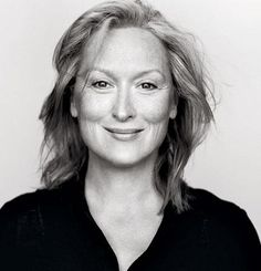 "Whatever path my career takes I hope to be the ""Meryl"" of my field."