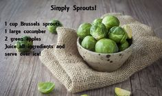 Easy to make Juice Blend! Simply sprouts! #paleo #healthyjuices http://paleoaholic.com/