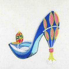 SK's Calendar Shoe April 2011