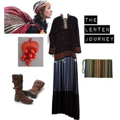 """The Lenten Journey"" by offbeatmodestdress on Polyvore"