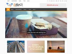 effect WordPress theme