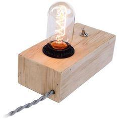 Dot & Bo Bright Idea Desk Lamp ($85) ❤ liked on Polyvore
