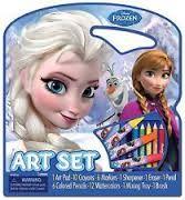 Artistic Studios Disney Frozen Character Art Tote Activity Set Beauty Cosmetics Makeup Skin Care Products