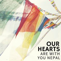 Our hearts and thoughts are with Nepal and all those with loved ones affected by the earthquake. To show your support at this difficult time, you can donate directly to the Red Cross Nepal Earthquake Appeal www.redcross.org to fund vital emergency relief and aid.