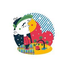 Poster Charlie Brown, especial de Natal, criado pela ilustradora Clau Souza  https://loja.tenhaborogodo.com.br/peanutscharliebrown