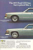 Cadillac de Ville 1977 Ad Picture