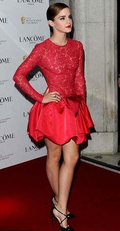 Emma Watson in Valentino. :)