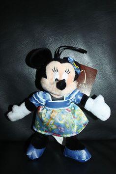 NEW Rare Disney Aulani Minnie Mouse Plush Ornament Hawaii Exclusive Aloha Wear