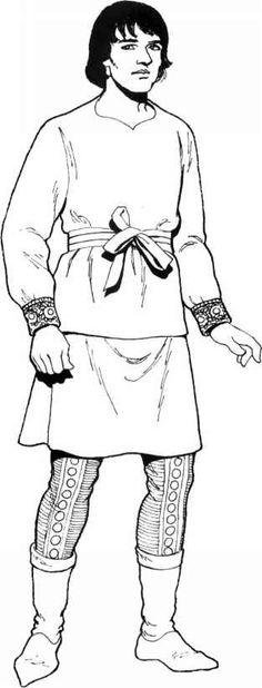 Byzantine Clothing