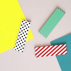 Candy Masking Tape Magnet Set