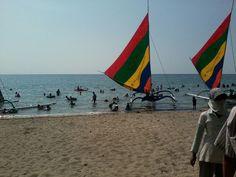 Pasir putih natural beach... ♥
