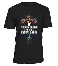 # Florida Grown With Kansas Roots T shirt .  HOW TO ORDER:1. Select the style and color you want: 2. Click Reserve it now3. Select size and quantity4. Enter shipping and billing information5. Done! Simple as that!TIPS: Buy 2 or more to save shipping cost!This is printable if you purchase only one piece. so dont worry, you will get yours.Guaranteed safe and secure checkout via:Paypal | VISA | MASTERCARD