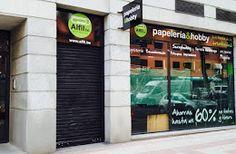 Nueva Papelería en Calle Alcalá de Madrid. http://alfilnews.blogspot.com.es/