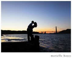 I want some cute pictures with the Golden Gate Bridge in the background!  So pretty!