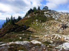 Sourdough Mountain, Washington. North Cascades -- North Cascades Highway, 11 miles RT, 5085 elevation gain