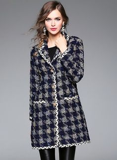 Polyester As Picture Long Long Sleeve Lapel Coats & Jackets