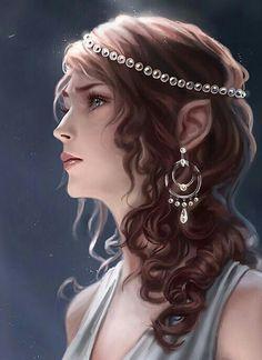 I imagine her like a bit older, more regal, but also with the same kind expression