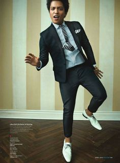 April 2013 Issue of GQ - Bruno Mars Photos