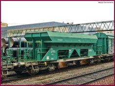 Meijo Ferroviario, el ferrocarril en Salamanca y el lejano oeste español: Los vagones tolva TTF  tipo Faccpps para balasto d...