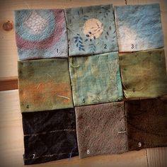 Nine as a landscape - Spirit Cloth