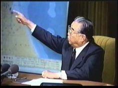 rare footage: Last Speech of Kim Il Sung [with his original Voice]