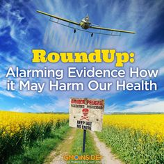 This is Your Body on Roundup: www.onegreenplanet.org/natural-health/roundup-alarming-evidence-how-it-may-harm-our-health Dr. Joel Kahn