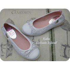 Bailarinas blancas Pablosky Zapatos niña y chica