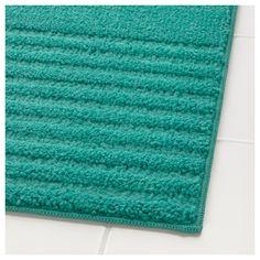 IKEA - VOXSJÖN, Kupaonski tepih, Zahvaljujući mikrofibri od koje je izrađen, jako je mekan, dobro upija i brzo se suši.Protuklizna poleđina drži kupaonski tepih na mjestu.Tepih se može koristiti na svim vrstama podova, čak i onima s podnim grijanjem.