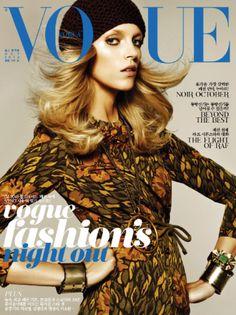 Vogue Korea - October 2012 - Anja Rubik