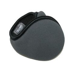 Behind the head earmuffs allow you to also wear glasses and hats comfortably. They easily collapse so you can just throw them in a bag. The padded headband is adjustable for one size fits most. Soft fleece lining with a stretch ribbed knit exterior. The stretch allows the material to form comfortably around your ears.