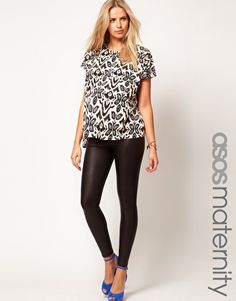 ASOS Maternity Soft Touch Full Length Leggings | Fashionable, even ...