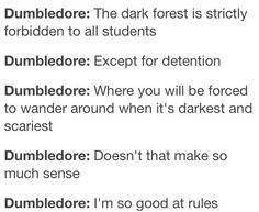 Oh Dumbledore!