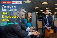 Our second annual ranking of Canada's Best Employers, in collaboration with Aon, uncovers the companies where people can't wait to get to work.