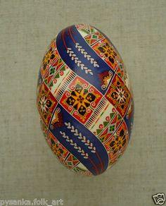 Ukrainian easter egg pretty challenging but worth it ukraine pysanka by oleh k goose easter egg height 3 3 in pysanky ebay negle Gallery