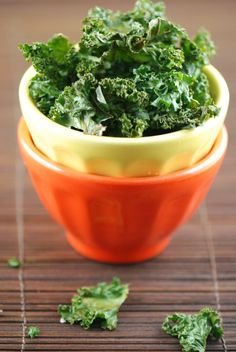 Kale chips are delicious! But don't burn them (learned that lesson). Plus my 4 year old loves them!