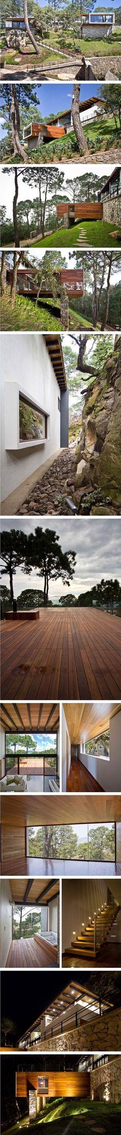 자연의 재료를 빌려 지은 자연 친화적인 주택 - Daum 부동산 커뮤니티 Cafe House, My House, House Rooms, Gaia, Old Houses, My Dream Home, Architecture Design, Planters, World