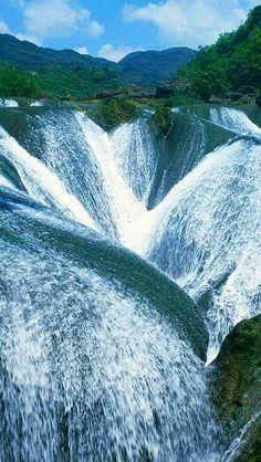 ✯ Awesome Falls - Jiuzhaigou, China @darleytravel