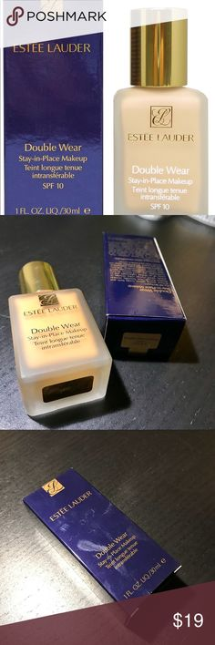 Estée Lauder Double Wear 3W2 Used once. Color is too dark for me. 3W2 cashew. Estee Lauder Makeup Foundation