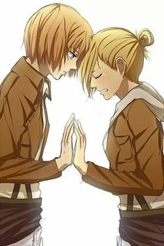 Armin x Annie - I am somewhat starting to ship this...?