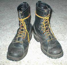 Size-11-W-Wesco-Short-Lineman-Boots
