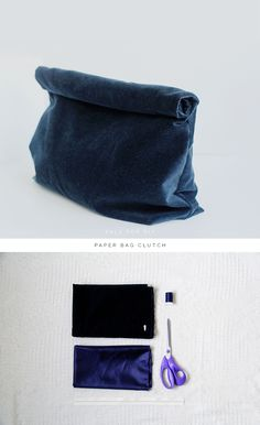 DIY Paper Bag Clutch | Fall For DIY