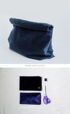 DIY Paper Bag Clutch | Fall For DIY