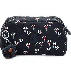 Kipling Yvonn Pouch in Cardinal - Beyond the Rack Black Pencil Case, Colored Pencil Case, Sacs Kipling, Kipling Backpack, Pencil Bags, Pencil Pouch, Shop Justice, Cute School Supplies, Office Accessories