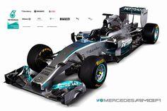 2014 Mercedes F1 challenger