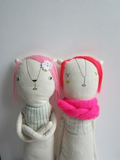 by marina*r, via Flickr // the expressions on these dolls cracks me up.