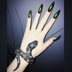 Medusa.  (currently croaking over this f$&@ing nail polish...)