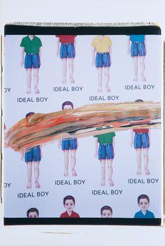 IDEAL BOY Artist: Mikko Ijäs, 2003. Photograph, Polaroid. 56 x 75 cm. More art from Mikko Ijäs at www.tabulaland.com/tuote-osasto/taiteilijat-osasto/mikko-ijas/ Polaroid, New York, Boys, Movies, Movie Posters, Shopping, Baby Boys, Films, New York City