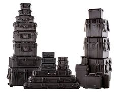 #PELICAN Cases -- Whenever I think of storage I use Pelican cases. they are heavy duty, insulated, dust proof, water proof, and stores equipment quite well. I personally go for the big ones with wheels to consolidate equipment, and transport easy.
